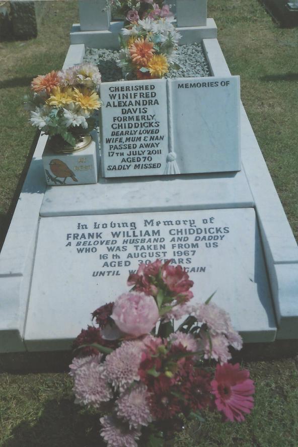 Mums Headstone 2