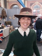HT Angela Living Military History land girl