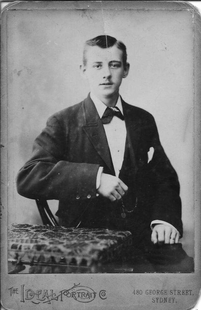 Frank Day as a Young Man