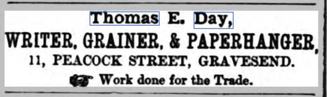 Thomas E Day Trade Advert