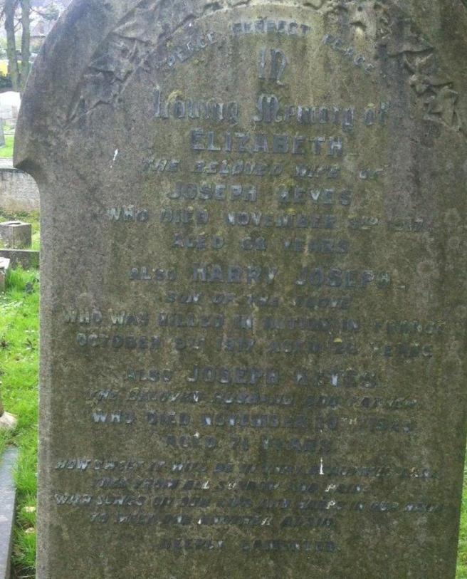 Keyes Gravestone