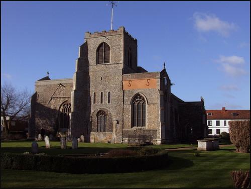 St Marys Church Attleborough Norfolk