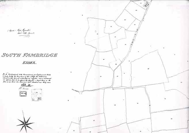 South Fambridge Tithe Maps 5