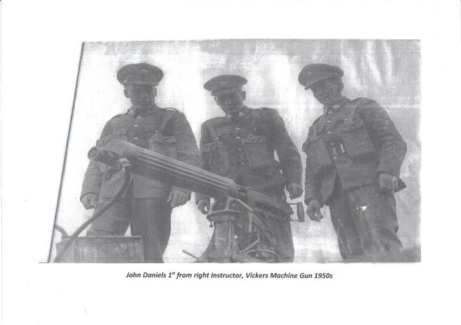 John Daniels Army 1950's