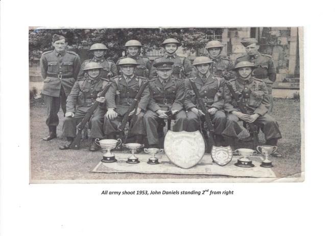 John Daniels Army 1953