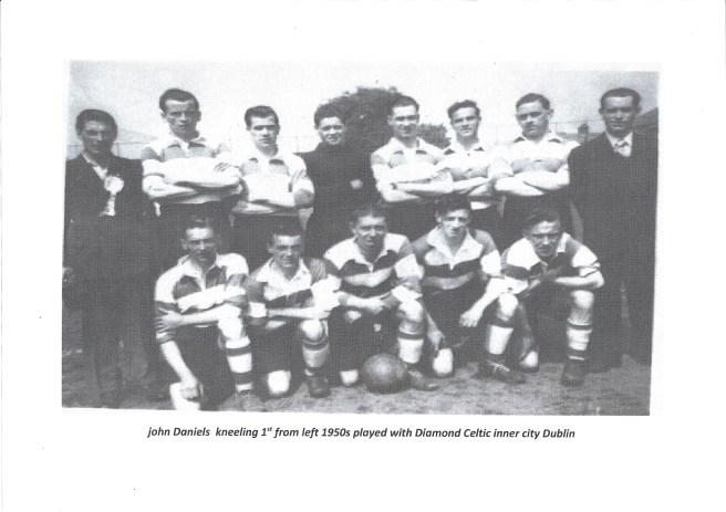 John Daniels Football 1950's