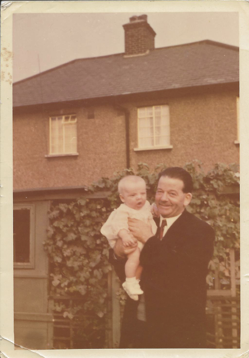Me and Grandad my Christening