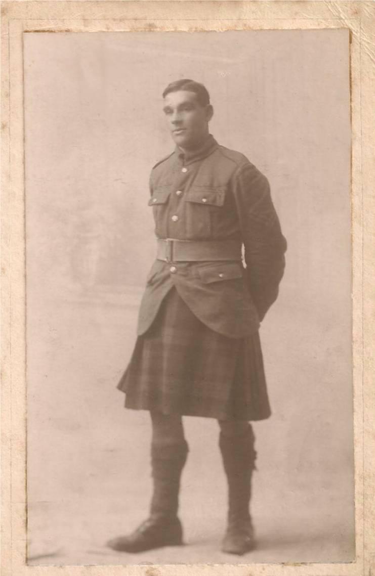 William Wootton Seaforth Highlanders