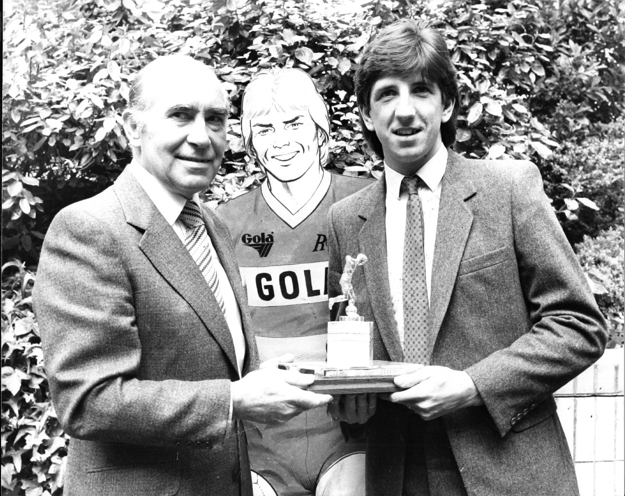 Sir Alf, Roy and Paul Mariner