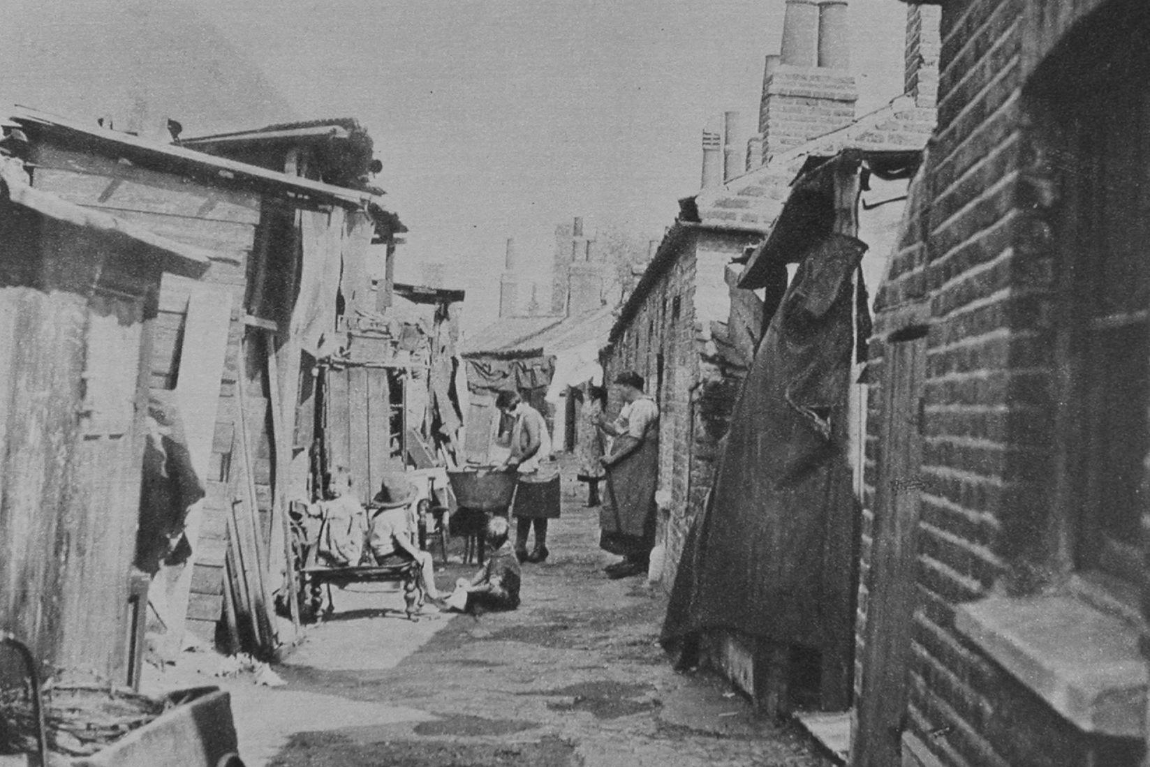 Slum Dwellings In The 1930s
